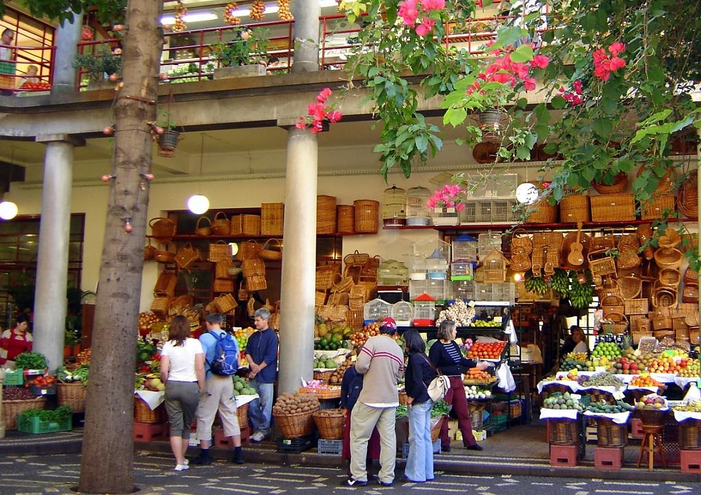 بازار محلی پرتغال