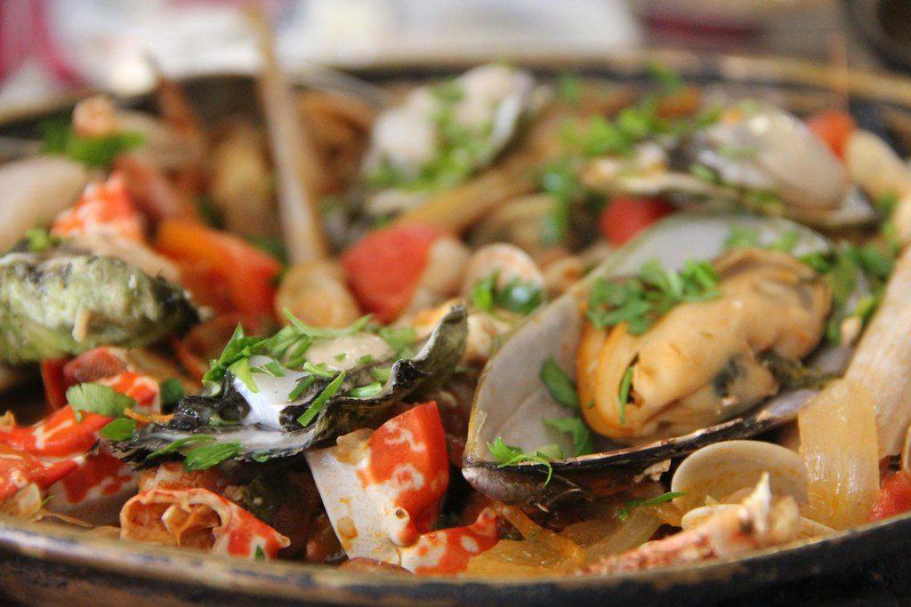 غذای دریایی کاتاپلانا، غذاهای دریایی پرتغال