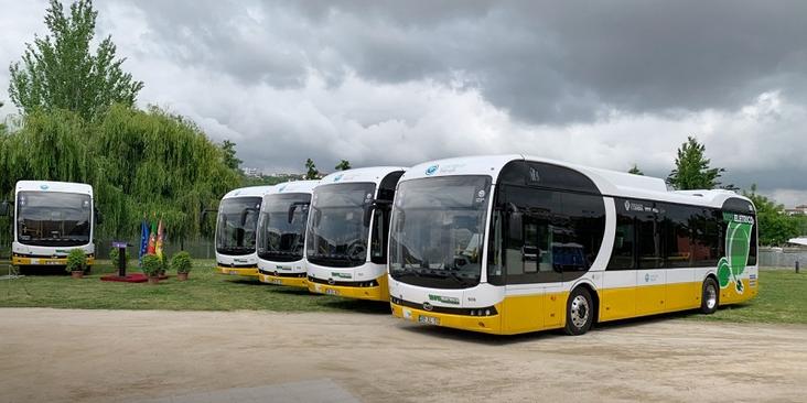 اتوبوس در پرتغال