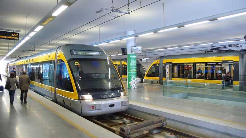 مترو در پرتغال
