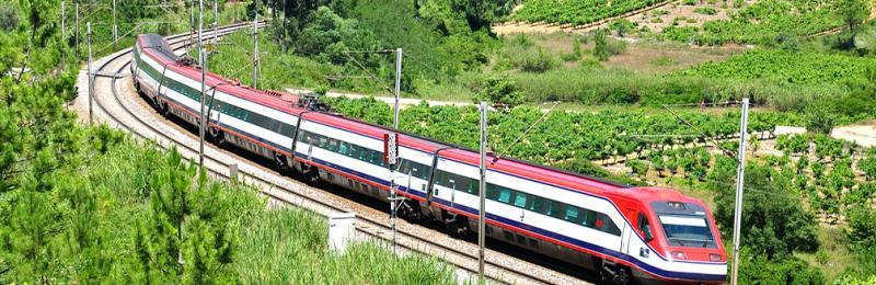 قطار در پرتغال