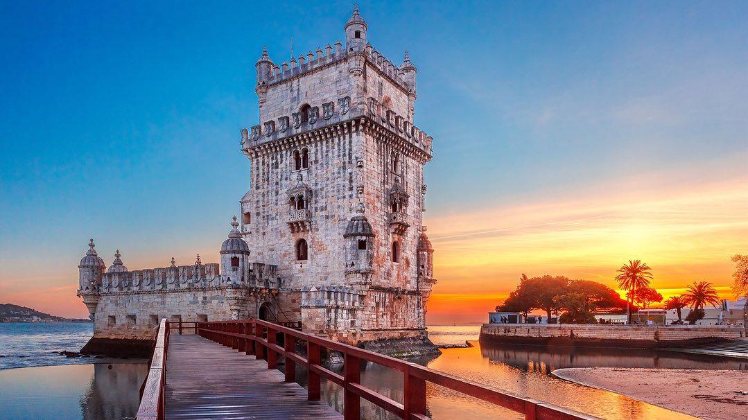 برج بلم در لیسبون به عنوان یکی از جاذبه های تاریخی پرتغال