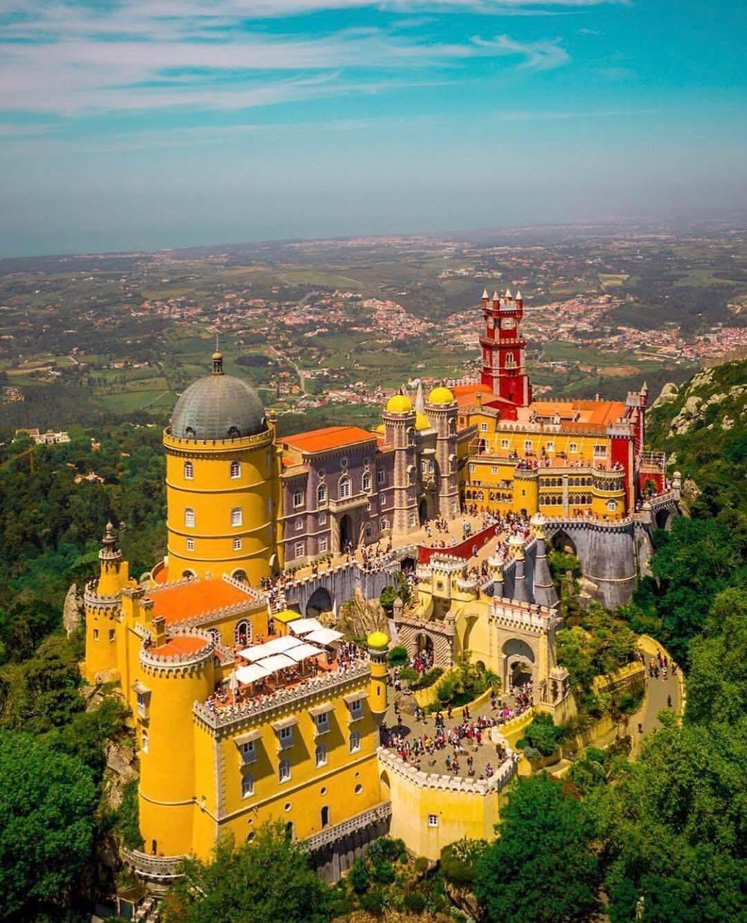 کاخ پنا در سینترا پرتغال