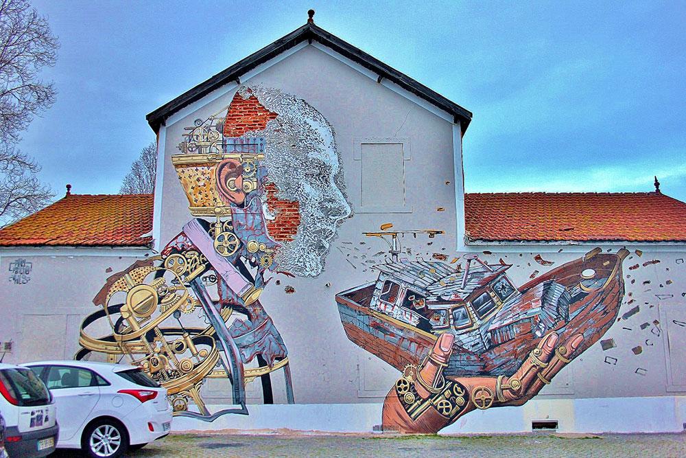 نقاشی های دیواری لیسبون