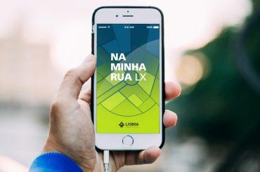 اپلیکیشن مشکلات شهری لیسبون Na Minha Rua