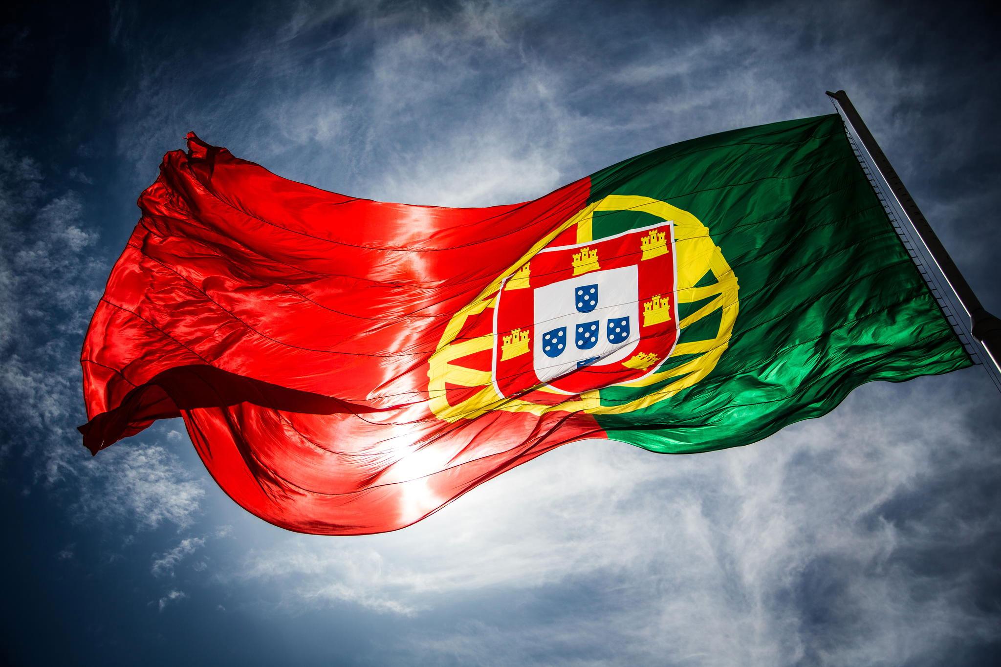 گلدن ویزای پرتغال 2020 پرچم پرتغال