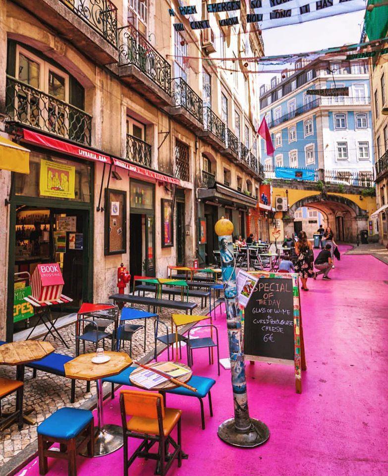 خیابان صورتی پرتغال