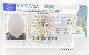 ویزای D7 پرتغال