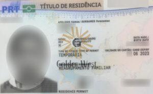 کارت اقامت پرتغال از طریق الحاق به خانواده